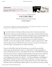 Factory Girls - The New Yorker