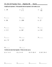 WORKSHEET NUMBERS COMPLEX