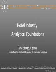 Hotel Industry Foundations (1)