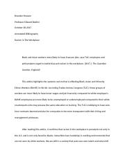 Racism Annotated Bibliography .docx