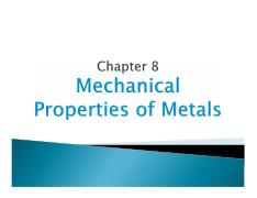 MEC 300-Materials Science Chapter 8