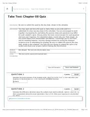 unfinished Take Test: Chapter 08 Quiz.pdf