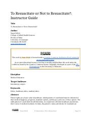 To Resuscitate or Not to Resuscitate_ (Instructor Guide).docx