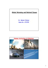 Global Warming and Related Issues_2011