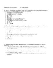 Intermediate Macro Econs HW08_Key