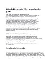 What is Blockchain.docx
