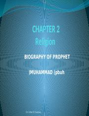 Chapter 2 - Religion (The Prophet Autobiography)