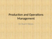 Production and Operations Management Lecture 1 - Copy