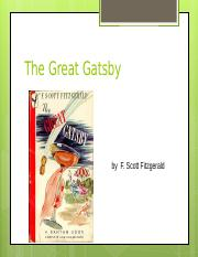 Gatsby Chapter 1.ppt