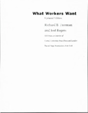 1107+Freeman+and+Rogers+-+What+Workers+Want