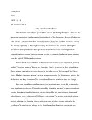 ENGL 1301 Final Exam Research Paper.docx