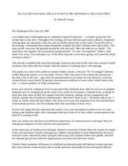 Essays on deborah tannen   ipgproje com White Tower Musings   WordPress com
