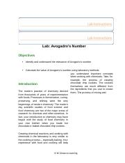 AVOGADROS NUMBER LAB..docx