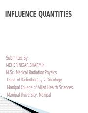 INFLUENCE QUANTITIES.pptx