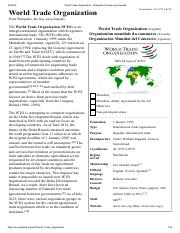 World Trade Organization - Wikipedia, the free encyclopedia.pdf