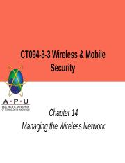 ch09 Enterprise Wireless Hardware Security ppt - CT094-3-3