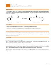 Table 1 Synthesis of EE dibenzalacetone Compound Molar Mass