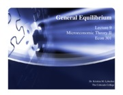Day 09 - General Equilibrium slides