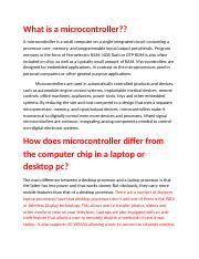 What is a microcontroller.docx