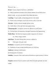 solubility curve homework - SOLUBILITY CURVE WORKSHEET Use your ...