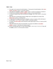 PSY_325_Statistics_for_the_Behavioral_and_Social_Sciences_Week_1_through_4_Quiz_Questions_and_Answer
