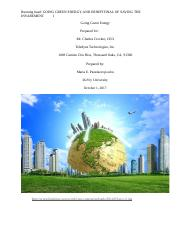 Going Green Energy ENGL 216.docx