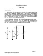 ece2274_MOSFET_VoltmeterLT pdf - ECE 2274 MOSFET Voltmeter Richard
