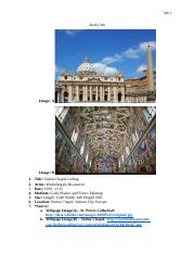 Art Research Paper #2 Underline
