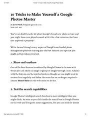 Pocket_ 10 Tricks to Make Yourself a Google Photos Master