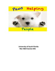 Paws Helping People