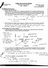 chemistry 105a si final exam review sheet solutions. Black Bedroom Furniture Sets. Home Design Ideas