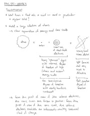 PHYS 541 Solidification Notes