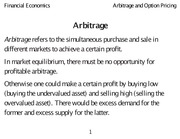 Class 31 Arbitrage_and_Option_Pricing