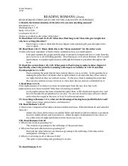 Romans Worksheet.doc