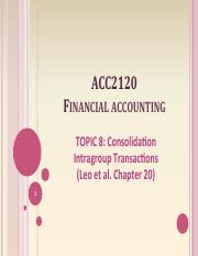 ACC2120 Lecture 8