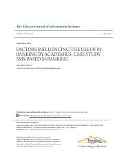 FACTORS INFLUENCING THE USE OF M-BANKING BY ACADEMICS.pdf