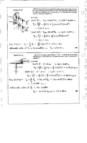 190_Mechanics Homework Mechanics of Materials Solution