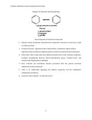 Chapter 15  Benzene and Aromaticity2017