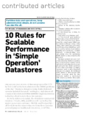 Ten Rules For Scalable Performance In Simple Operation Datastores.pdf