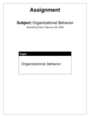 15688083-Introduction-To-Organizational-Behavior