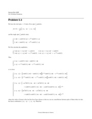 Chapter 5 Problem Solutions