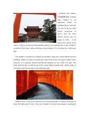 Fushimi Inari Shrine.docx