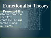 PP_Presentation_For_Functionalist_Theory