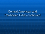 8 Central America-Caribbean 2