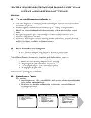 4 HUMAN RESOURCE PLANNING.doc