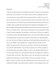 A Letter About Plato and Aristotle.docx