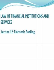 LFIS LECTURE 12