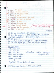 FRN 120 p11 Class Lecture Notes