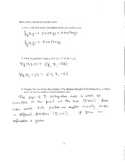 2012 Fall Exam #2 Solutions