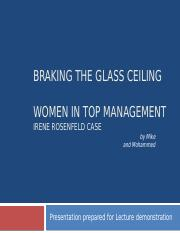 case study_-women_in_top-management